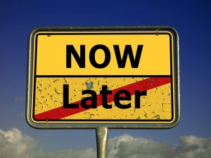 How to Eliminate your Procrastination Crutch